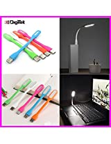Digitek DUL-001 USB Powered Bendable Flexible Led Light lamp for Reading on Computer Notebook Laptop PC Powerbank (GizmoGrid)