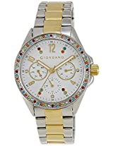 Giordano Analog White Dial Women's Watch - A2002-33