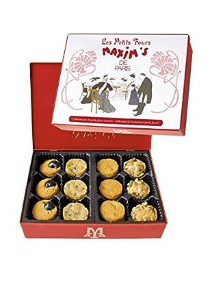 Maxim's de Paris Box of 24 Pure Butter Shortbread Petits Fours