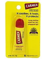 Carmex - Soothing Everyday Lip Balm External Analgesic Original - 0.35 oz.