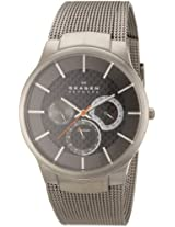 Skagen Analog Black Dial Men's Watch - 809XLTTM