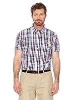 Cortefiel Camisa Cuadros (azul / verde / rojo)