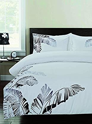 Mélange Home Pacific Embroidered Duvet Set