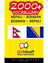 2000+ Nepali - Bosnian, Bosnian - Nepali Vocabulary