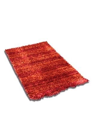 Arquinter Alfombra Shaggy Escarlata (Rojo)