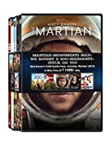 Matt Damon Pack - Martian/Monuments Man/We Bought A Zoo/Margaret/Stuck On You (Packof 5 Movies)