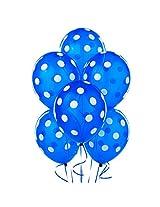 Tiger 50146 Polka Dot Large Balloon Blue (Pack Of 30)