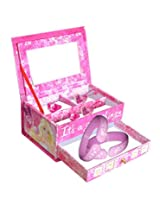 Barbie Jewellery Box (Pink)