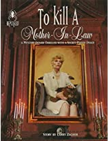 To Kill A Mother In Law A Murder By Larry Zacher; 1000 Piece Mystery Jigsaw Puzzle By Bepuzzled