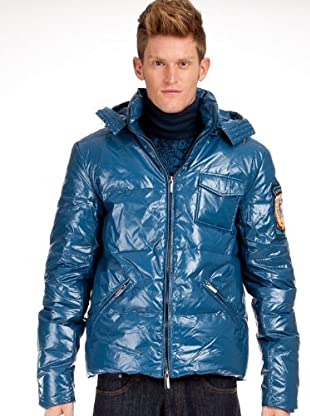 Custo Mantel (Blau)
