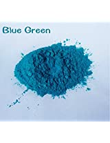 30g Healthy Natural Mineral Mica Powder Diy For Soap Dye Soap Colorant makeup eyeshadow Soap Powder (blue green)