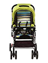 Mee Mee Baby Pram with Rocker and 3 Seating Positions (Green)