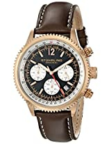 Stuhrling Original Analog Black Dial Men's Watch - 669.04