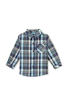 Me Too Boy's Klement Mini Long Sleeve Shirt (Horizon)