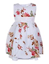 Baby Hug - Floral Printed Layered Frock