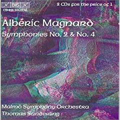Magnard: Symphonies No. 2 & 4 / Sanderling, Malmo SO