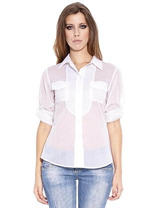Caramelo Blusa Elegance (blanco)
