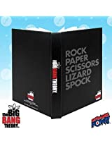 The Big Bang Theory Rock Paper Scissors Spock Journal