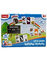Play & Learn Let's Learn Indian States, Multi Color