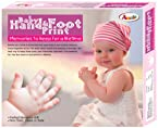 Annie Baby Hand and Foot Print Kit, Multi Color