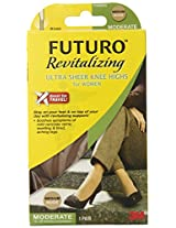 Futuro Revitalizing Ultra Sheer Knee Highs for Women Nude
