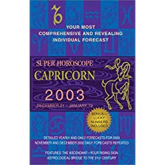 Super Horoscopes 2003: Capricorn