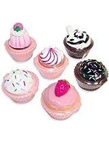Rhode Island Novelty Cupcake Lip Gloss 12 Piece Girls Birthday Party Favors
