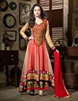 Shraddha Kapoor Red Net Anarkali Suit - LFSUKHW1102
