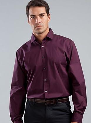 Cortefiel Camisa Vestir (morado)