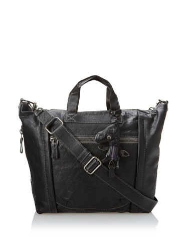 A. Toy Leigh Binded Messenger, Black