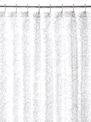 Nautica Lamberts Cove Shower Curtain, Light Grey