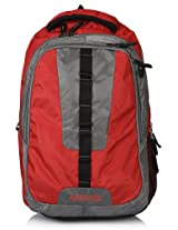 15.3 Inch Red/Grey Backpack