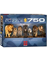 Big Cats Jigsaw Puzzle 750 Piece Puzzle By Euro Graphics