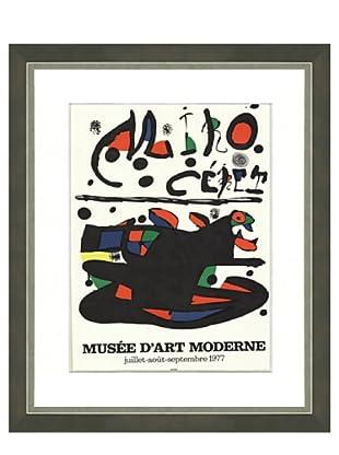 Joan Miró: Ceret, 1977