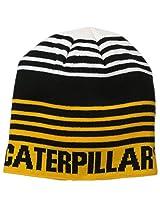 Caterpillar Men's Branded Stripe Cap