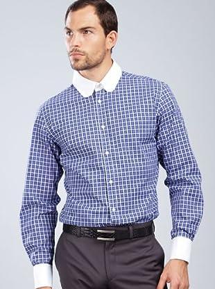 Armand Basi Camisa Contraste (morado)