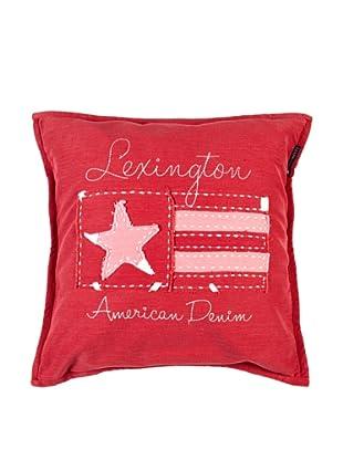 Lexington Company Funda De Cojín Bandera Vaquera (Rojo)