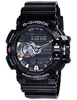 G-Shock Bluetooth Bluetooth Analog-Digital Black Dial Men's Watch - GBA-400-1ADR (G556)