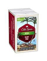 Old Spice Fresh Collection Fiji Scent Bar Soap Pack of 2 x 113g