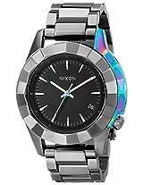 Nixon Women's A2881698 Monarch Stainless Steel Watch with Link Bracelet