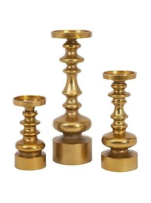 Set of 3 Karenza Candleholders