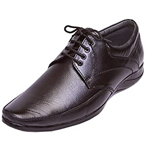 Shoebook Classic Leather Formal Shoes, Black