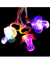 Light Up Multi Color Led Pacifier