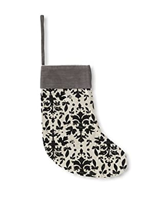 Shiraleah Baroque Stocking (White/Grey/Black)