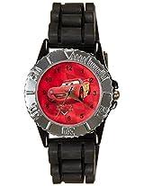 Disney Analog Multi-Color Dial Children's Watch - LP-1003 (Black)