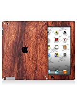 XGear EXO Skin Protective Vinyl for iPad 4 (Wood Grain Bubinga)