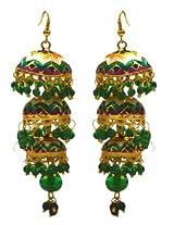 Ethnic Meenakari Work Earrings