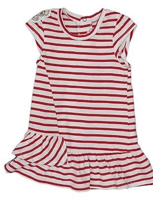 Ikks Vestido Lentejuelas (blanco / rojo)