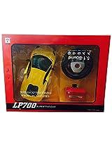 Saluja Toys Gravity Sensor Car Yellow / Radio & Remote Control