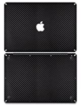 "XGear EXO Skin Protective Vinyl for MacBook Pro 13"" (Black Carbon Fiber)"